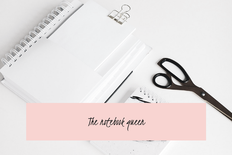 The notebook queen - Angela Harkness