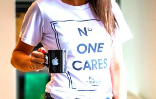 No one cares teeshirt